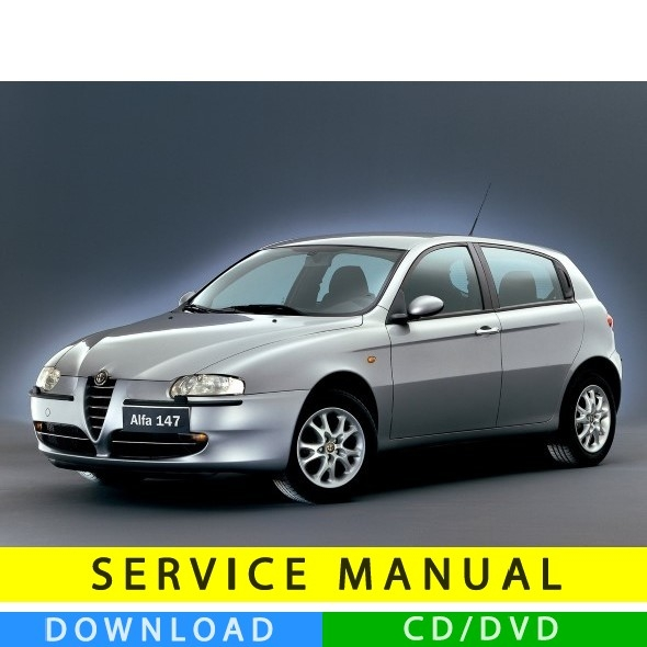 alfa romeo 147 service manual 2000 2010 multilang. Black Bedroom Furniture Sets. Home Design Ideas