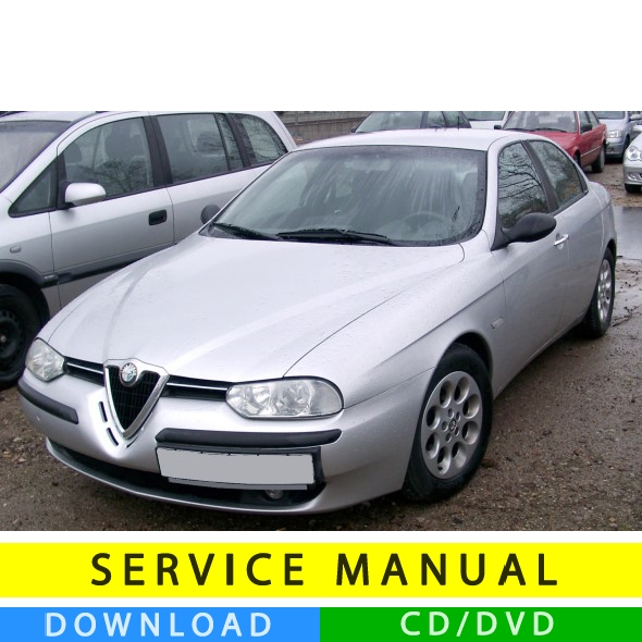 Alfa Romeo 156 Service Manual (1997-2007) (Multilang