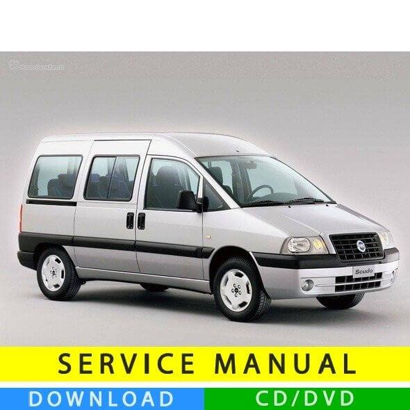 Fiat Scudo service manual (1996-2007) (Multilang)