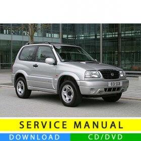 Suzuki Grand Vitara service manual (1998-2005) (EN)
