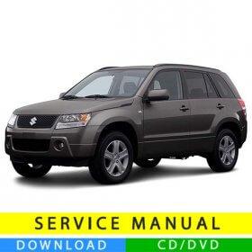Suzuki Grand Vitara service manual (2005-2015) (EN)