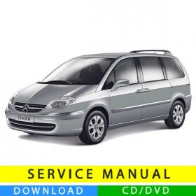 Citroën C8 service manual (2002-2014) (Multilang)