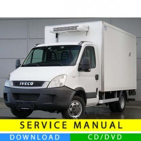 Iveco Daily service manual (2006-2014) (EN)