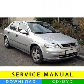 Opel Astra G service manual (1998-2006) (EN)