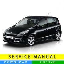 Renault Scenic 3 service manual (2009-2016) (EN)