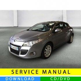Renault Megane III service manual (2008-2014) (EN-FR)