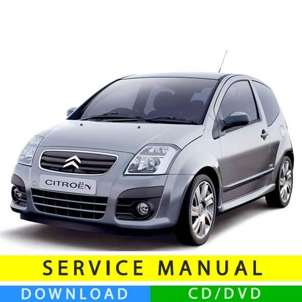 Citroen C2 service manual (2003-2010) (IT)