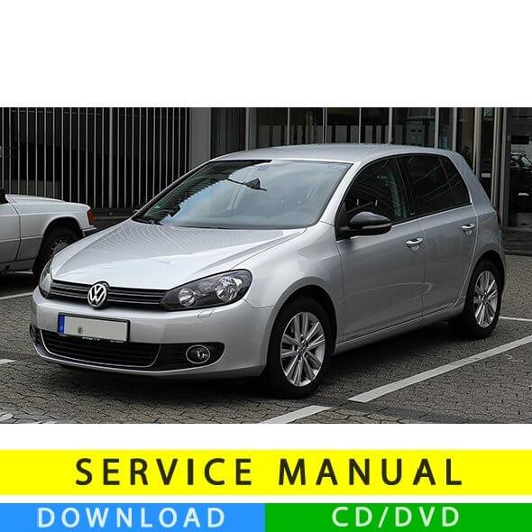 Volkswagen Golf VI service manual (2008-2012) (IT)