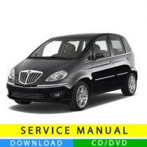 Lancia Musa service manual (2004-2012) (Multilang)