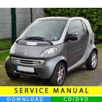 Smart Fortwo service manual (1998-2007) (EN-IT-DE)