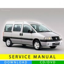 Fiat Scudo service manual (1996-2007) (Multilang)