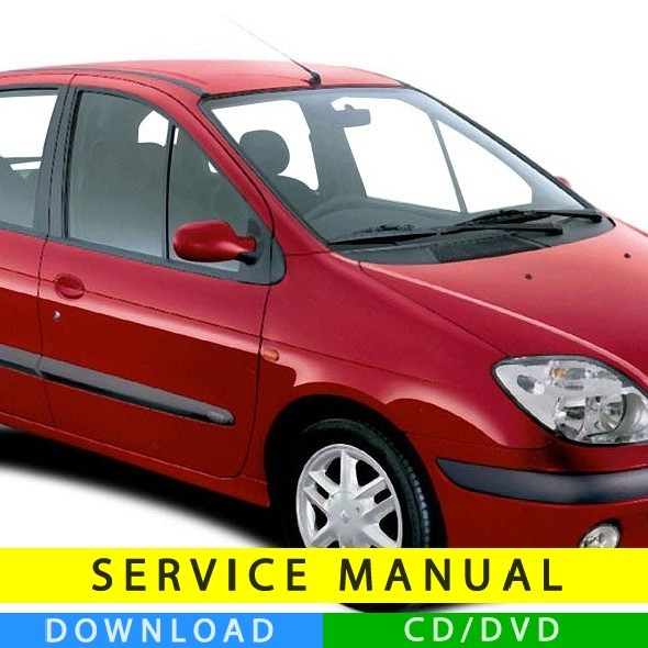 renault scenic service manual  1997